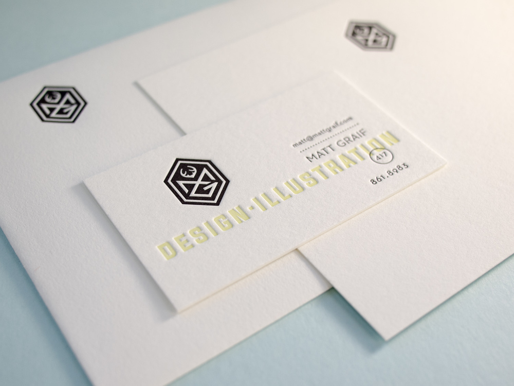 Letterpress Business Set