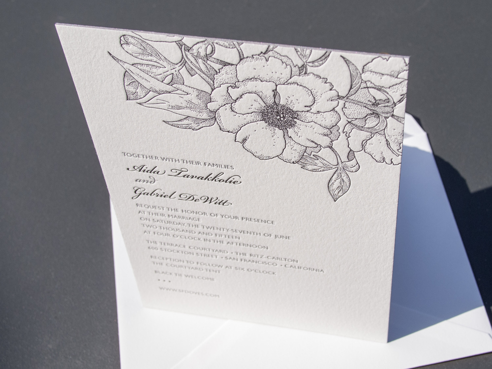 Blossom / Ontario Invitation