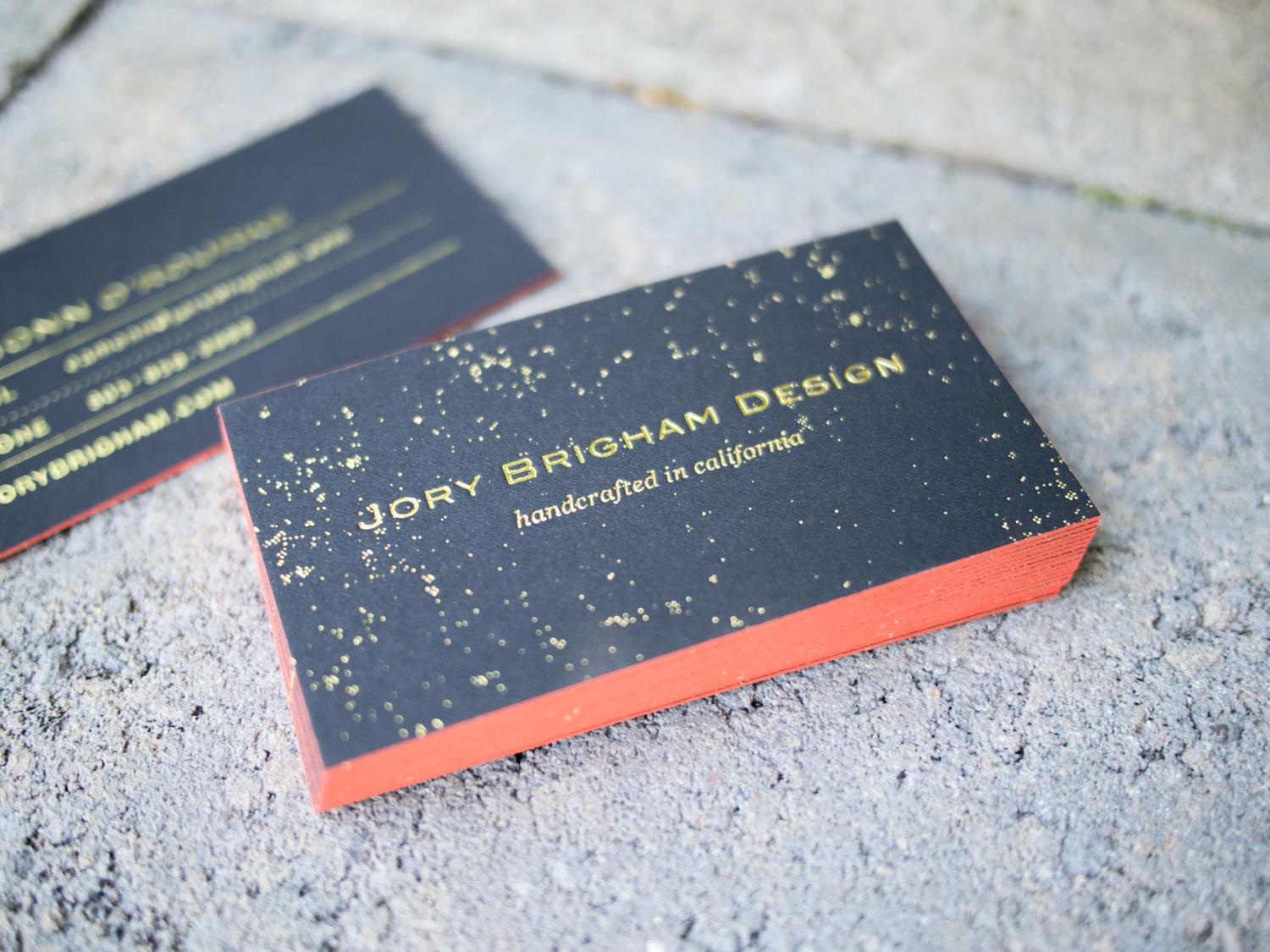 Business Cards for Jory Brigham Design — the Parklife Blog