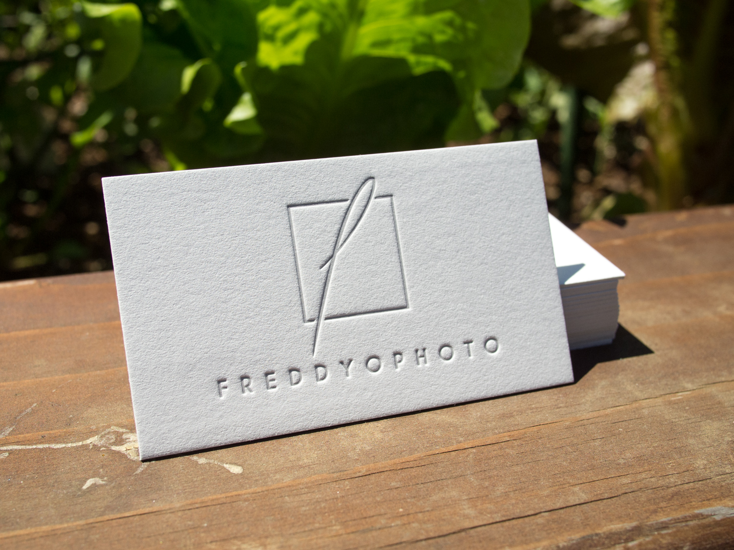 Business Cards for FREDDYOPHOTO — the Parklife Blog