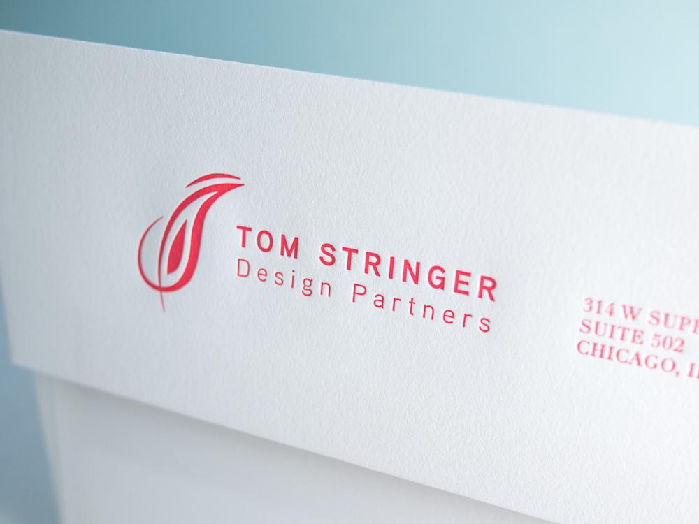 Letterpress Envelope Flap