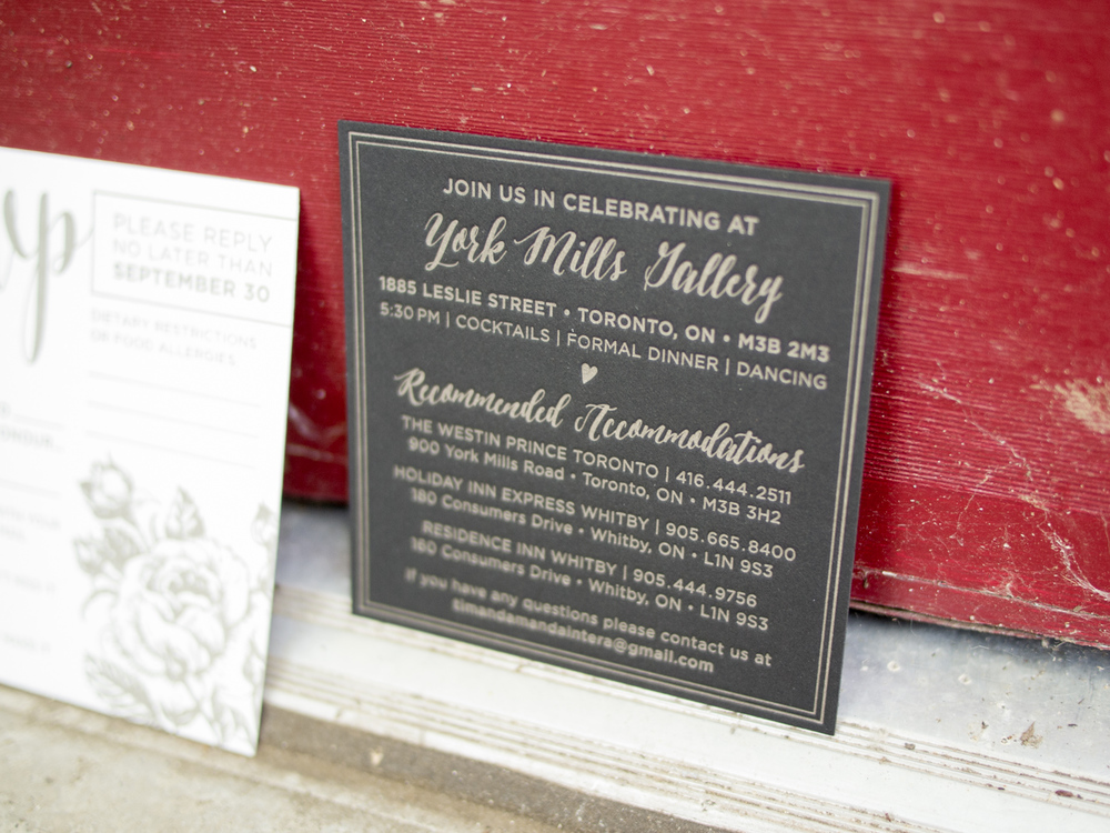 Black Letterpress Enclosure