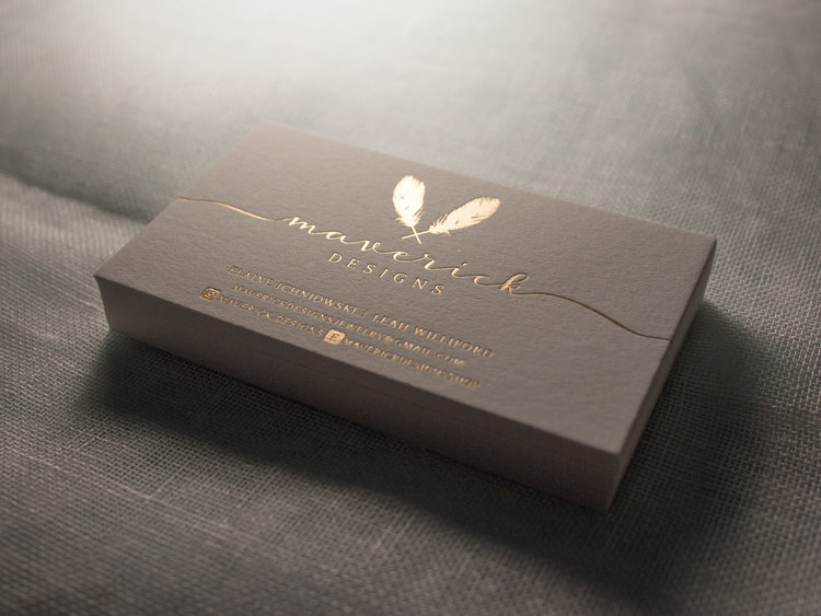 Satin gold foil business cards the parklife blog colourmoves