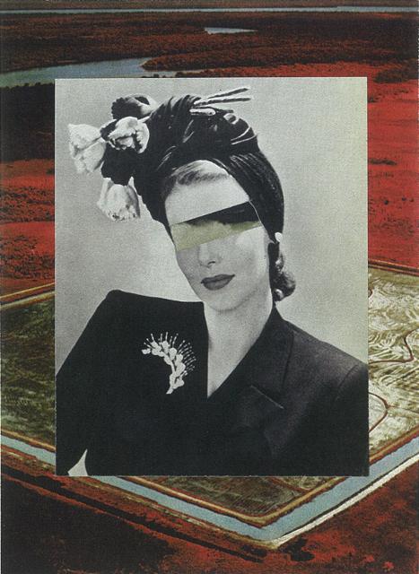 Caroline Kha,  Proserpina,  2012, Handmade collage