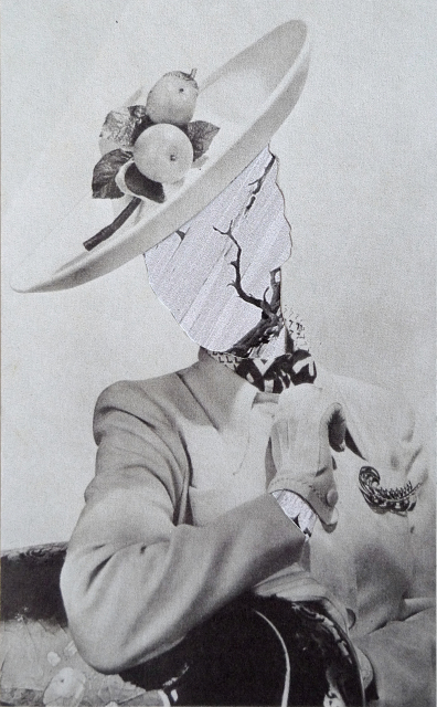 Caroline Kha,  Daphne , 2012, Handmade Collage