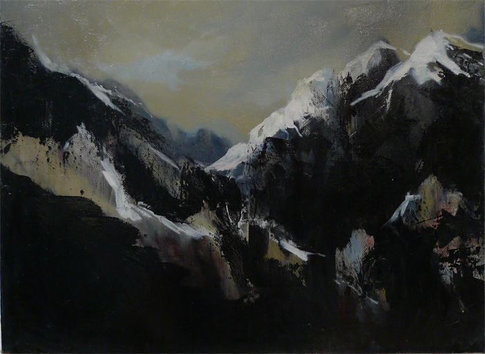 Landscape I, Lha, 2010, Oil on canvas, 31 x 41, 700jpeg.jpg