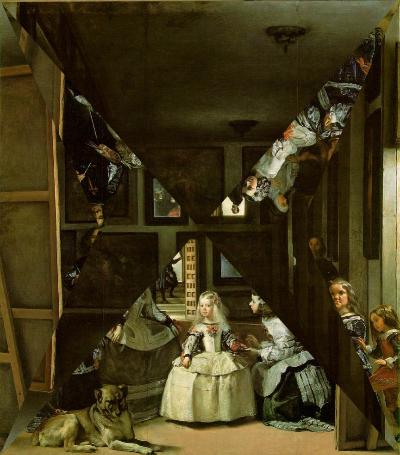 Velazquez, Las Meninas, study