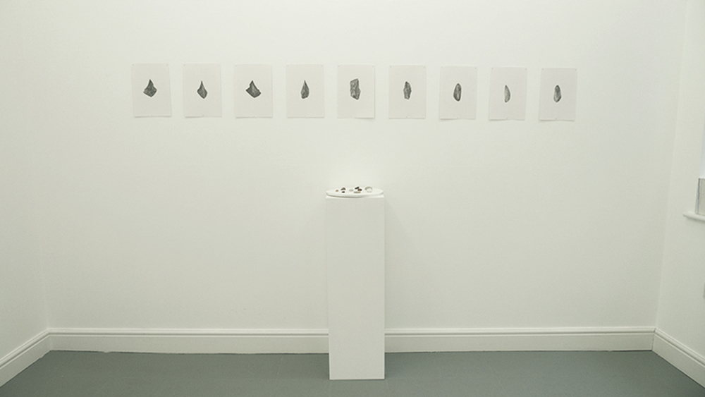 Caroline Kha,  Talismans  and  Origins , 2013, Installation view.  Dimensions variable. © dalla Rosa Gallery