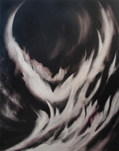 Caroline Kha, A Widow Bird , 2003, Oil on canvas ©