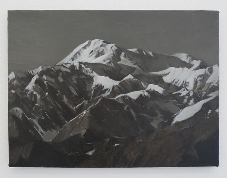 C. Kha, 'Survey: Denali National Park Alaska', 2013, Oil on Canvas, 40 x 30 cm