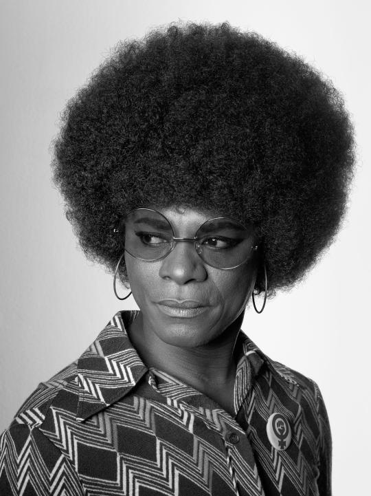 Da série African Spirits: Angela Davies