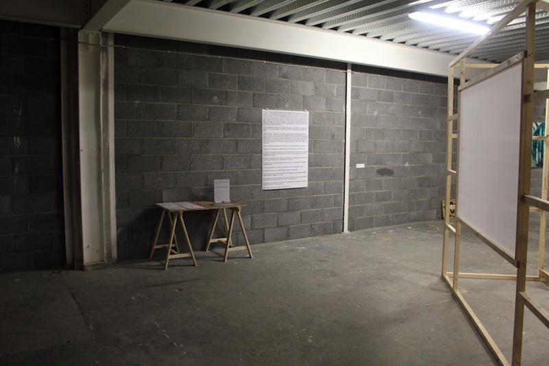 david finn, model 1, 126 gallery, 2012