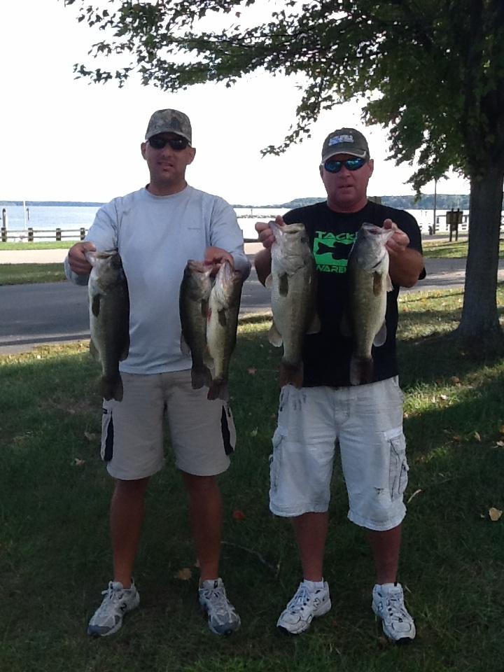 Kip Hall and Joe Simmon Second Place 15.24 lbs