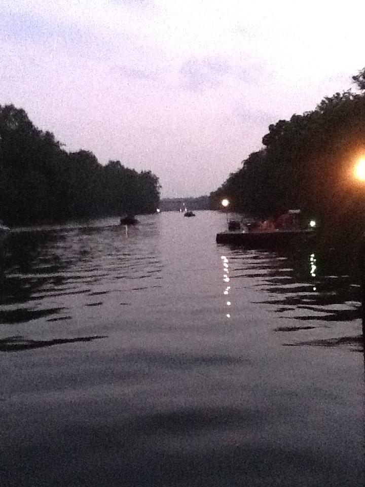 The Beautiful Rappahannock River Fifteen Boats