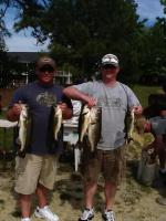 Brian Williams and Justin Puryear Third Place 13.62 lbs