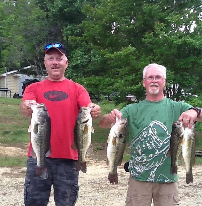Melvin Fulk and Bill Seal Fourth Place 15.19 lbs