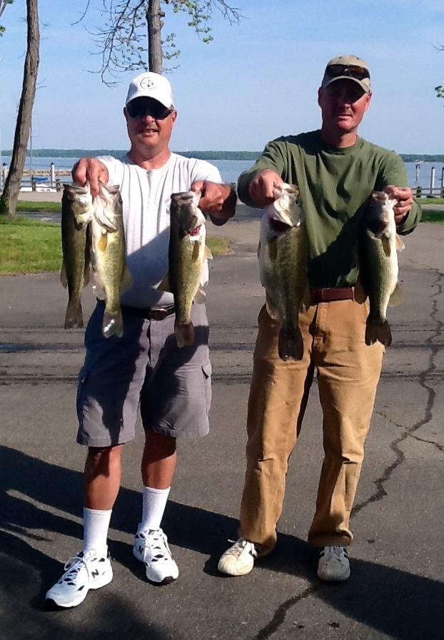 John Helfrich and John Sherer Third Place  15.03 lbs