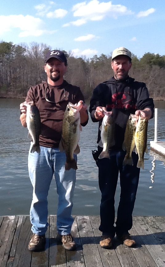 Jeff Lugar and Ricky Fulk Fourth Place 13.37 lbs