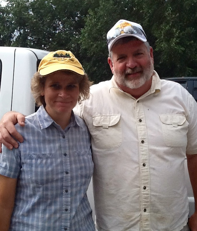 Best Fishing Pals! Wayne and Cindy Crickenberger