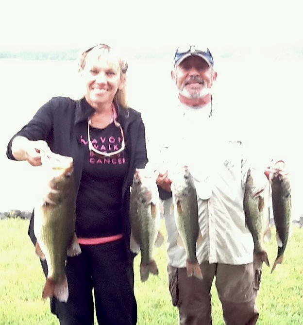 Deb and John McDougall Third Place 13.12 lbs