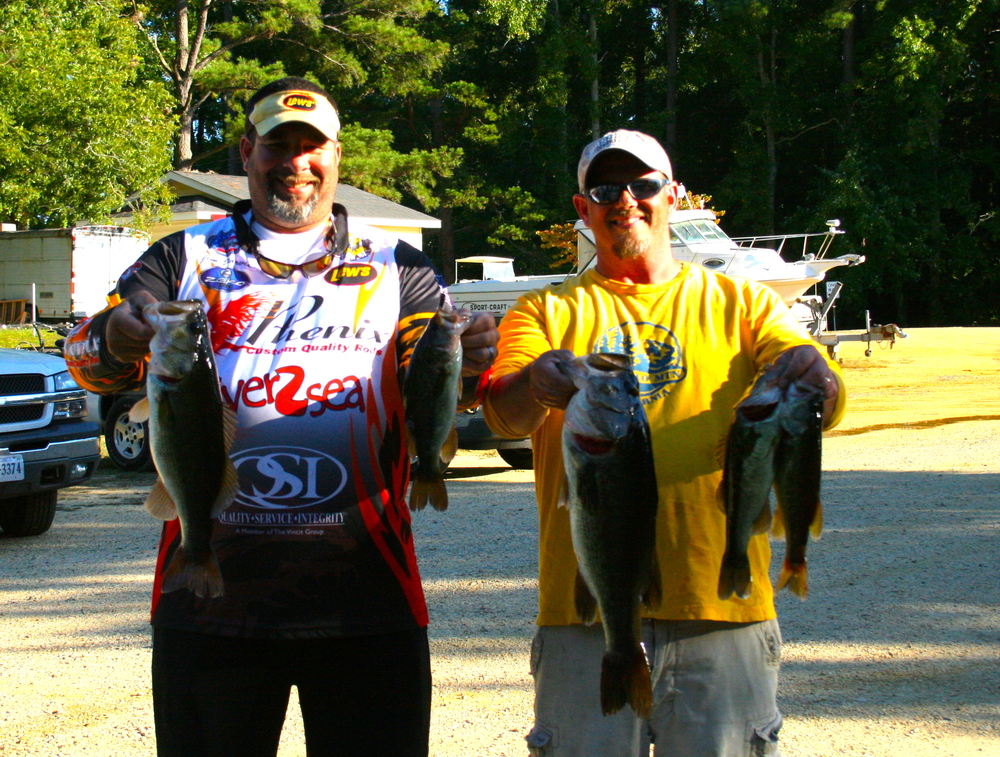 Jim Jarvis and Bobby O'Brien 2nd Place 24.75 lbs
