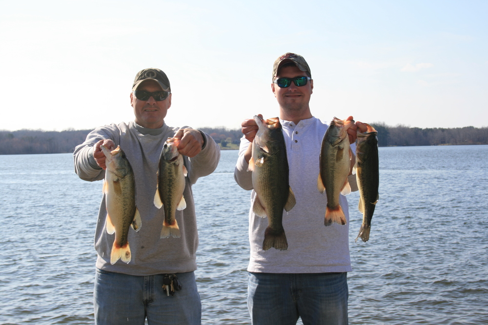 John Sherer and Corey Blake Second Place 15.15 lbs
