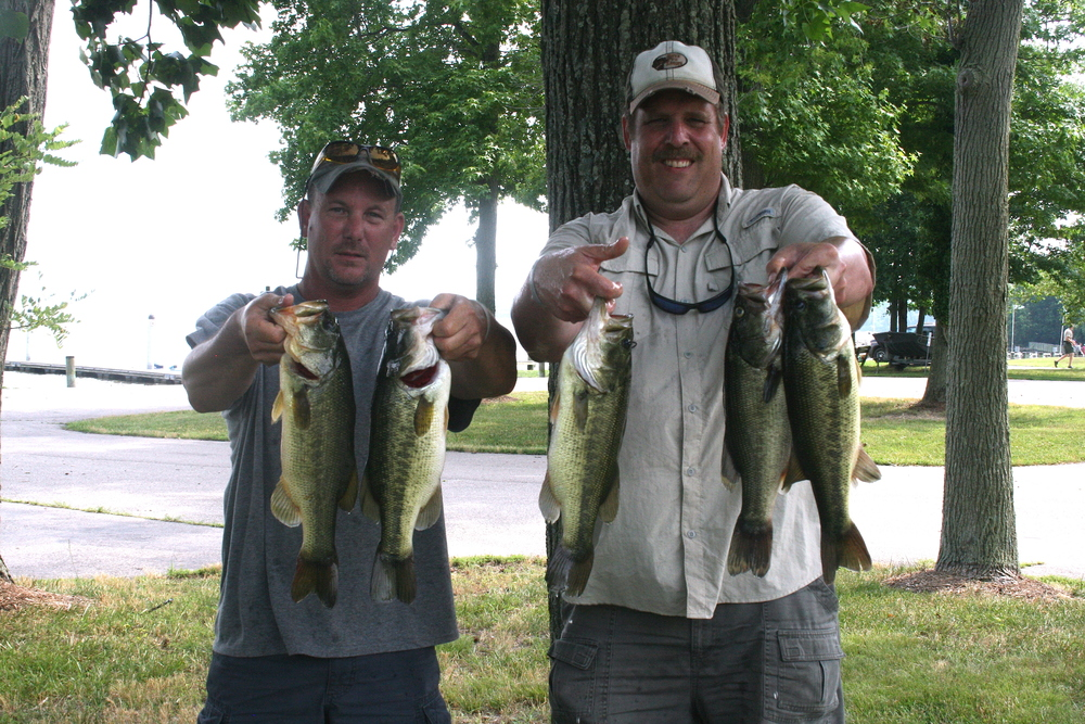 Andy Bowman and Barry Shrum Fifth Place 11.46 lbs