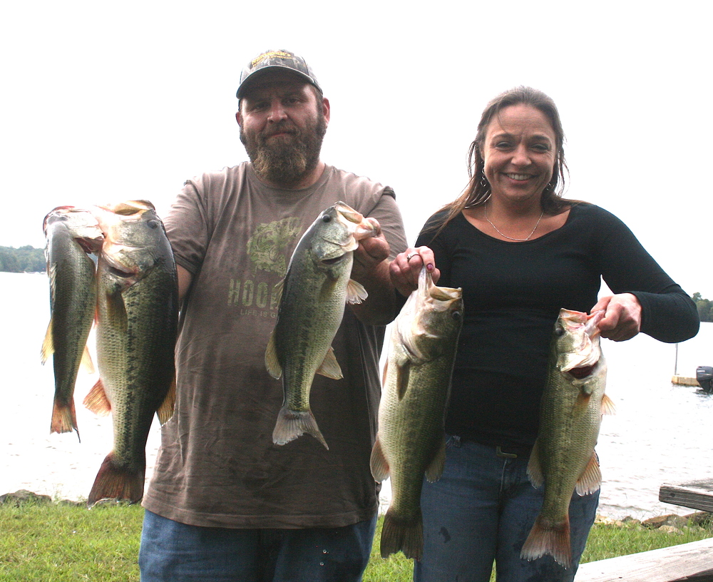 Joey Lineweaver and Amy Bowman Third Place 13.39 lbs