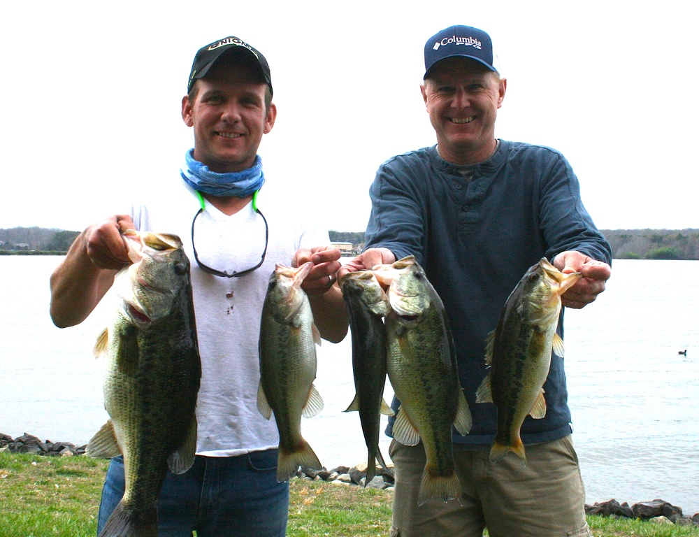 Michael and Mark Heatwole Third PLace 14.23 lbs
