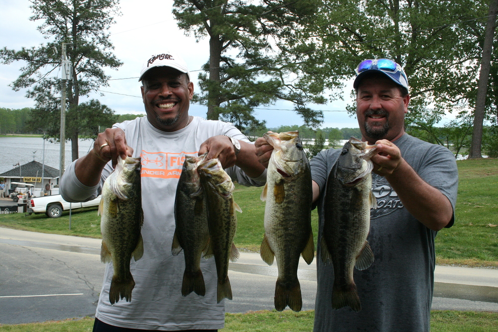 Scott Falls and Melvin Bowling 12.85 lbs