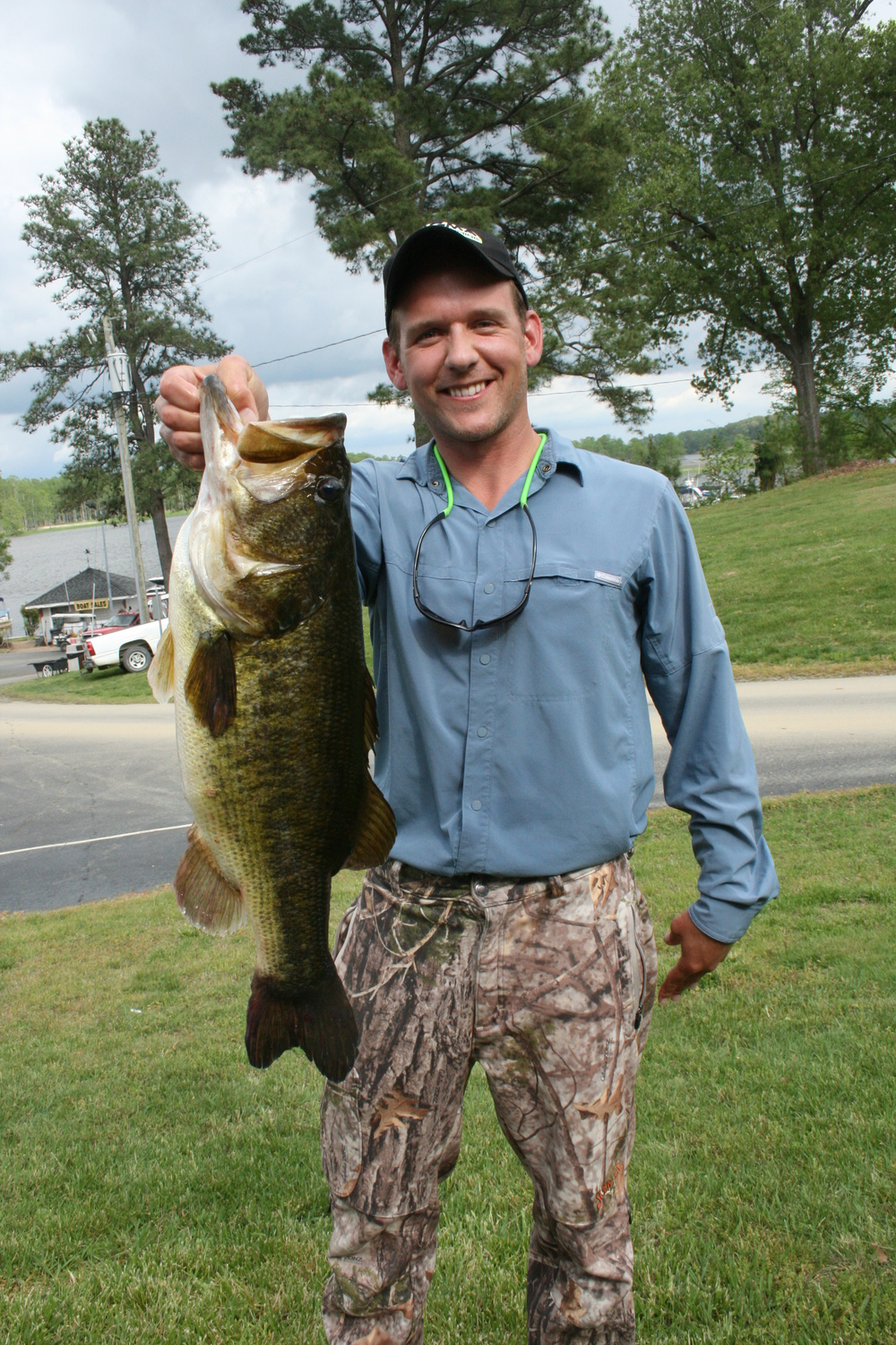 Michael Heatwole  Big Fish 8.54 lbs