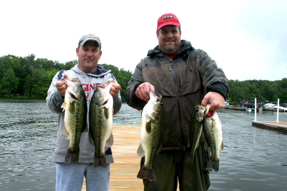 Andy Bowman and Barry Shrum Third Place 14.05 lbs