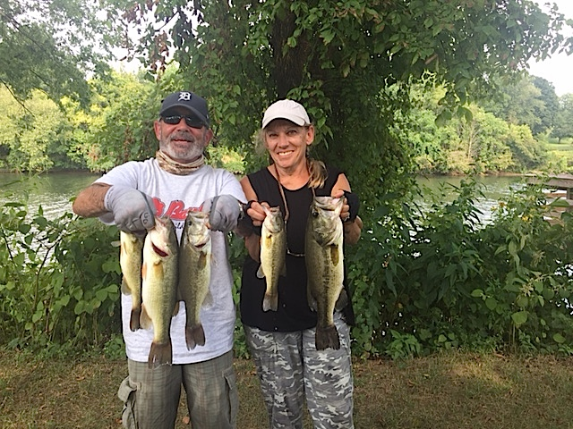 John and Deb McDougall 8.04 lbs