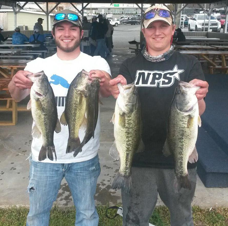 Costas Melendez and Travis Lugar 3rd Place 13.43 lbs