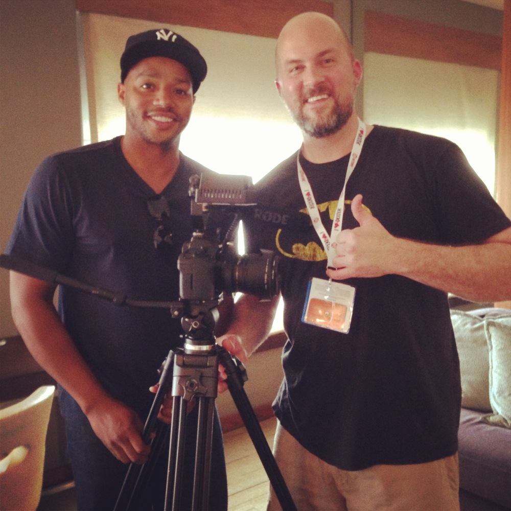 Donald Faison interview for VGTM