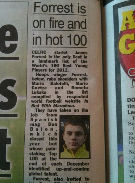 The Sun, December 2011
