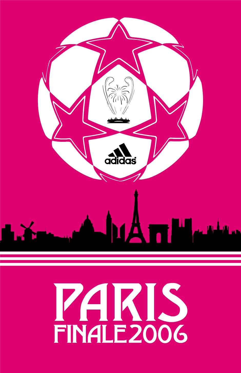 UEFA CHAMPIONS LEAGUE POSTERS BY STEVE WELSH X ADIDAS IBWM