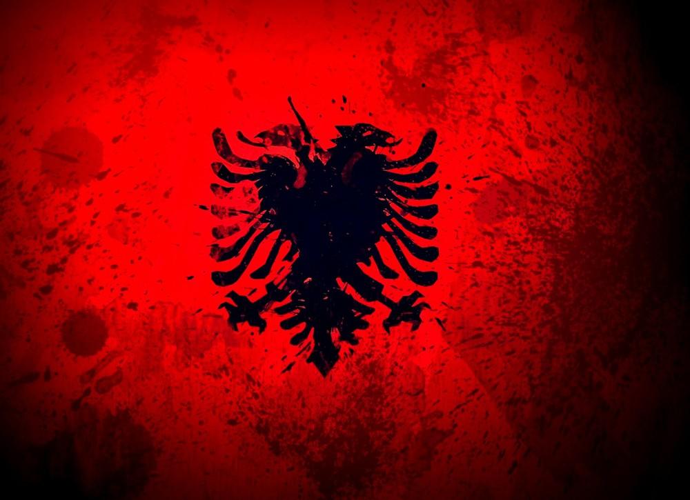 Albania Euro Flag