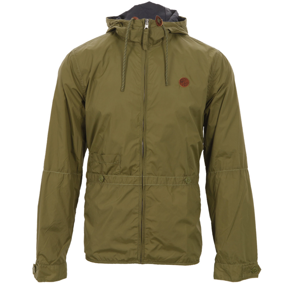 ebb5705da3827 Nope, not one jot, although the weather might start to get a little more  'iffy'. Handy, then, that this reversible hooded jacket from Pretty Green  is ...