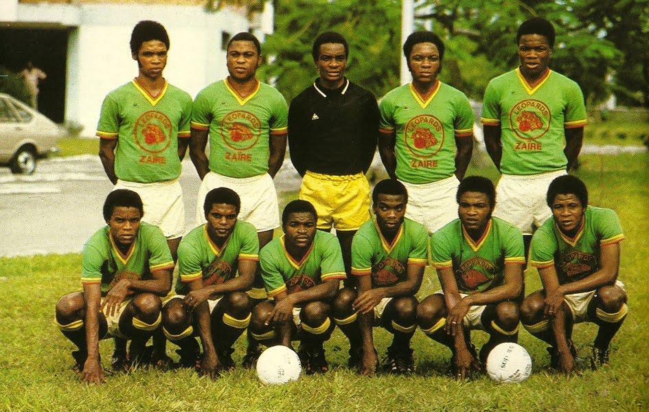 Zaire 1974 maglie Le Coq Sportif