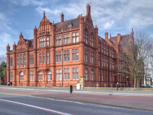 Simon's place of work; Salford University. Image credit.