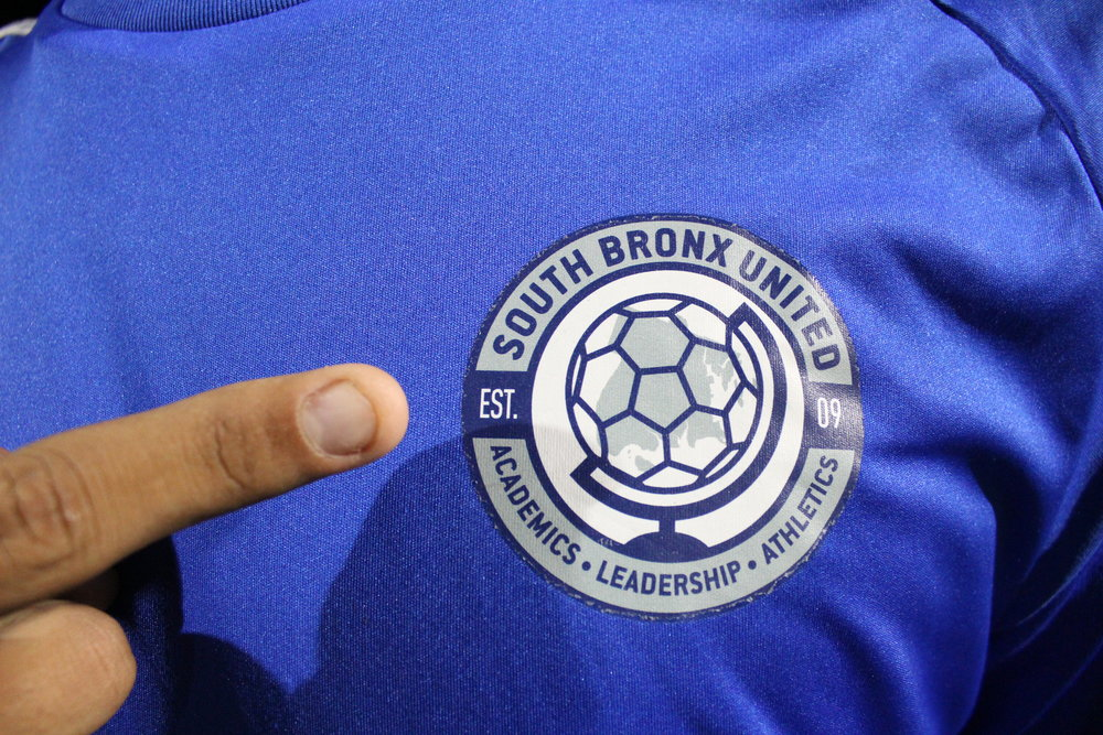 The motto found in the crest of the sapphire blue uniforms worn by the academy players exemplifies the chief objectives of the organization. Kervy Robles for After the Final Whistle.