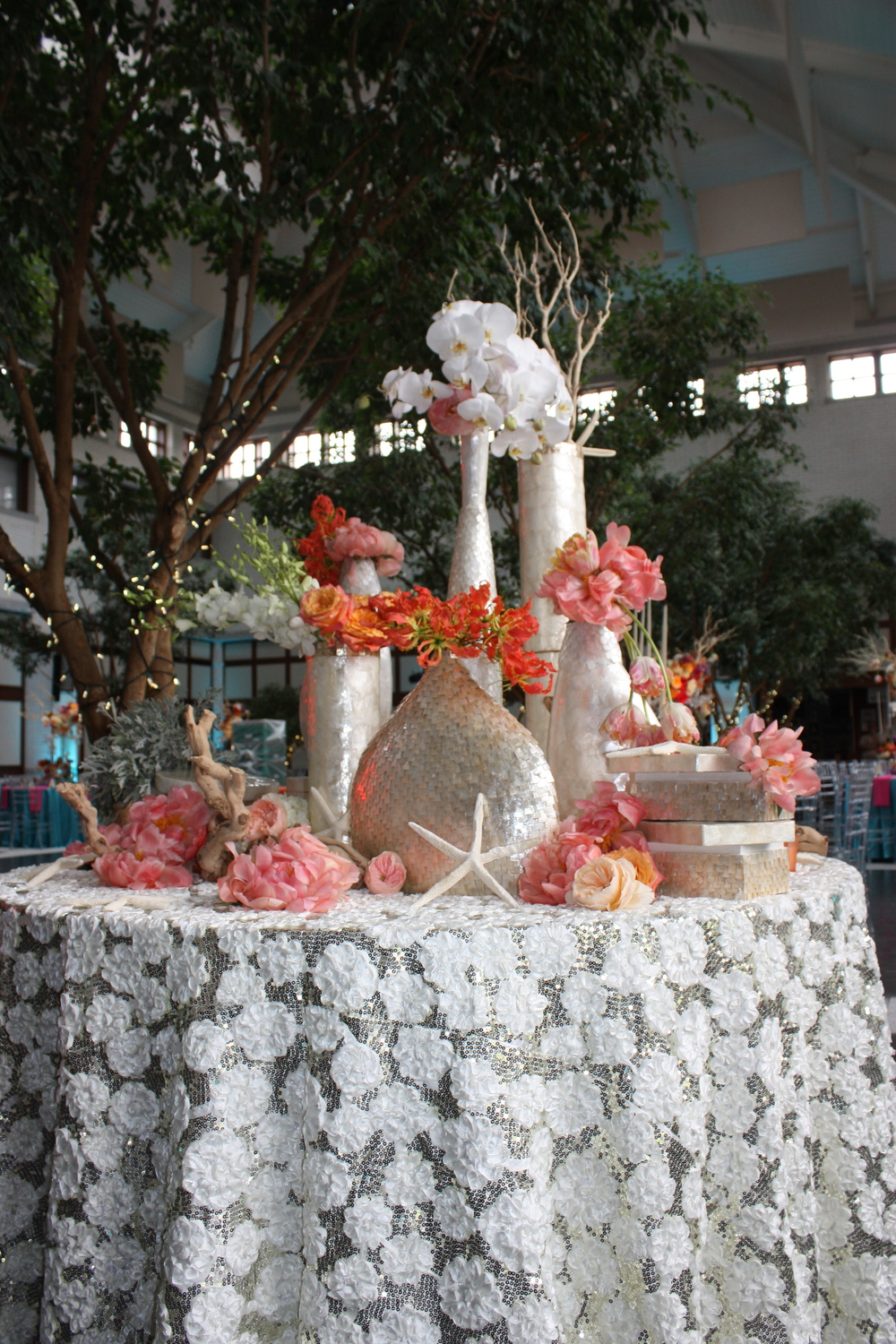 Props and Floral Styling by: Ivie Joy  Table linen provided by: Ted Event Event Management