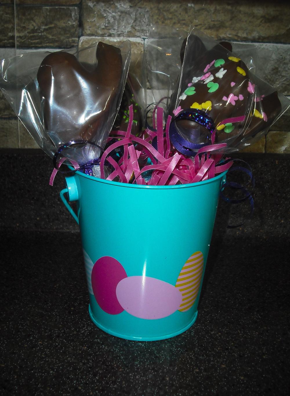 Easter Peep Cake Pops