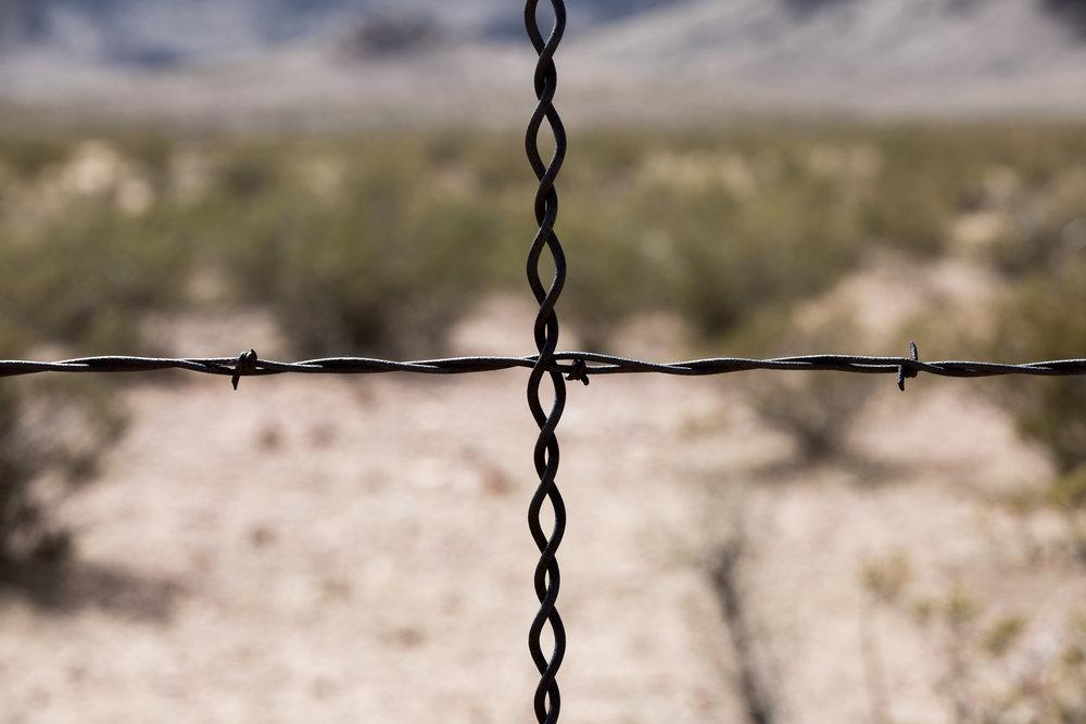 USA/Mexico Border.