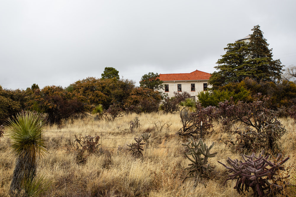 Fort Bayard in 2018.  Photograph by Nathan Larson