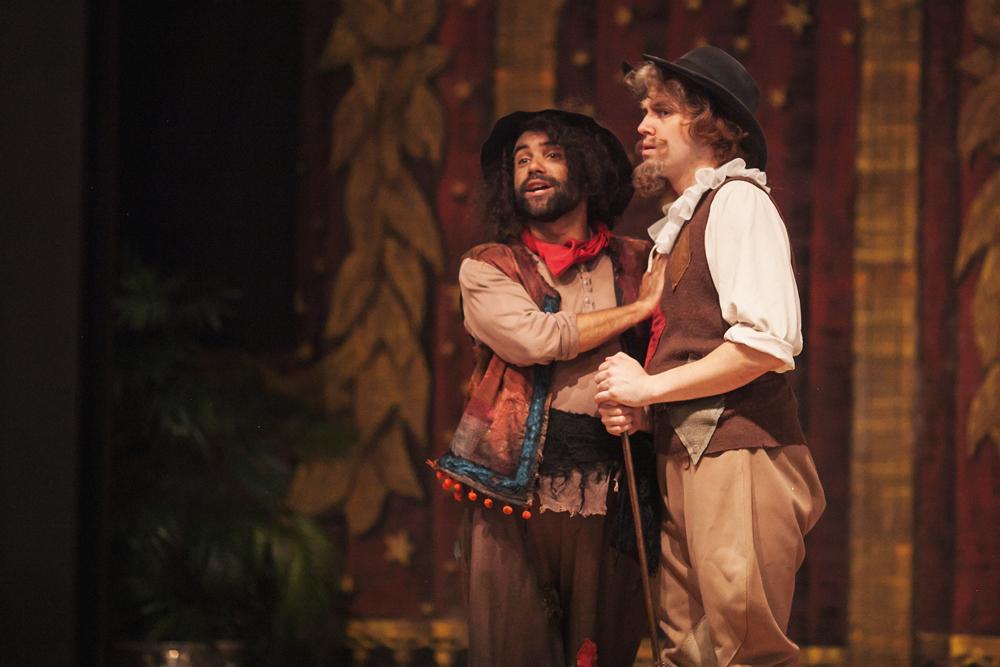 Don Quixote and the Duchess, Central City Opera, 2015