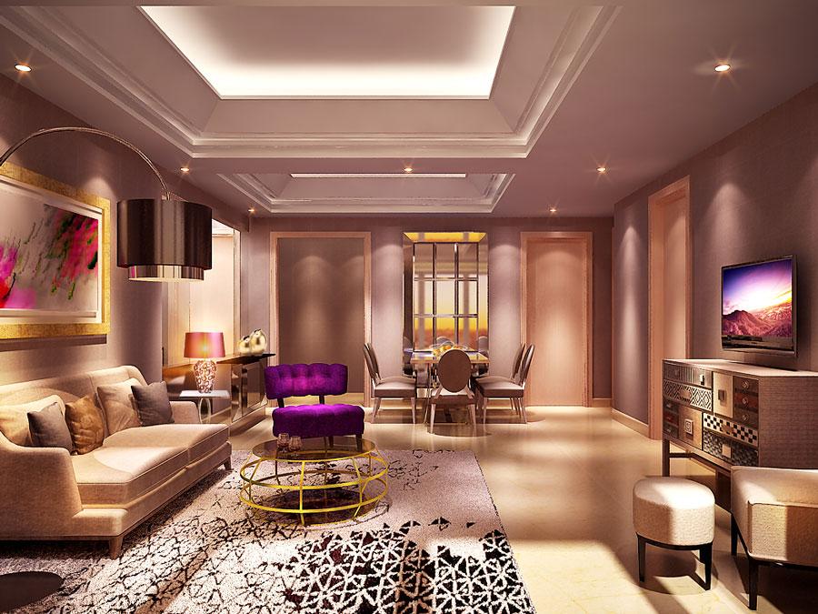 ONE EAST KERTAJAYA - ApartmentInterior Design