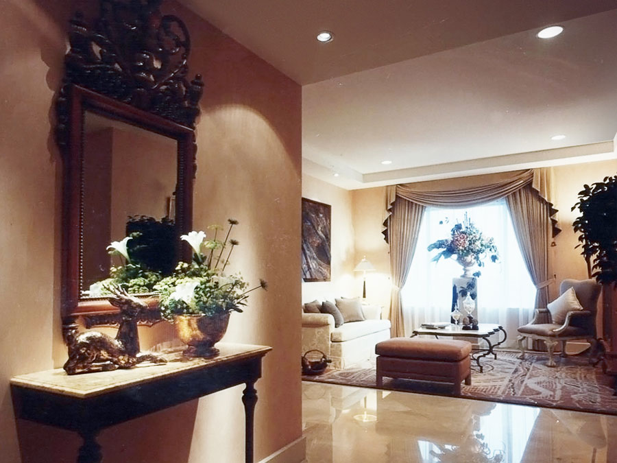 PLAZA RESIDENCES - Luxury ApartmentInterior Design
