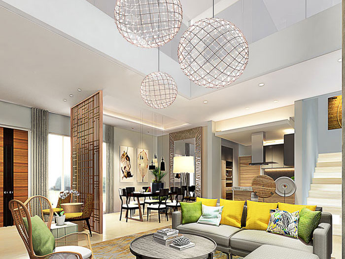 THE RIVIERA - Residential Show Unit